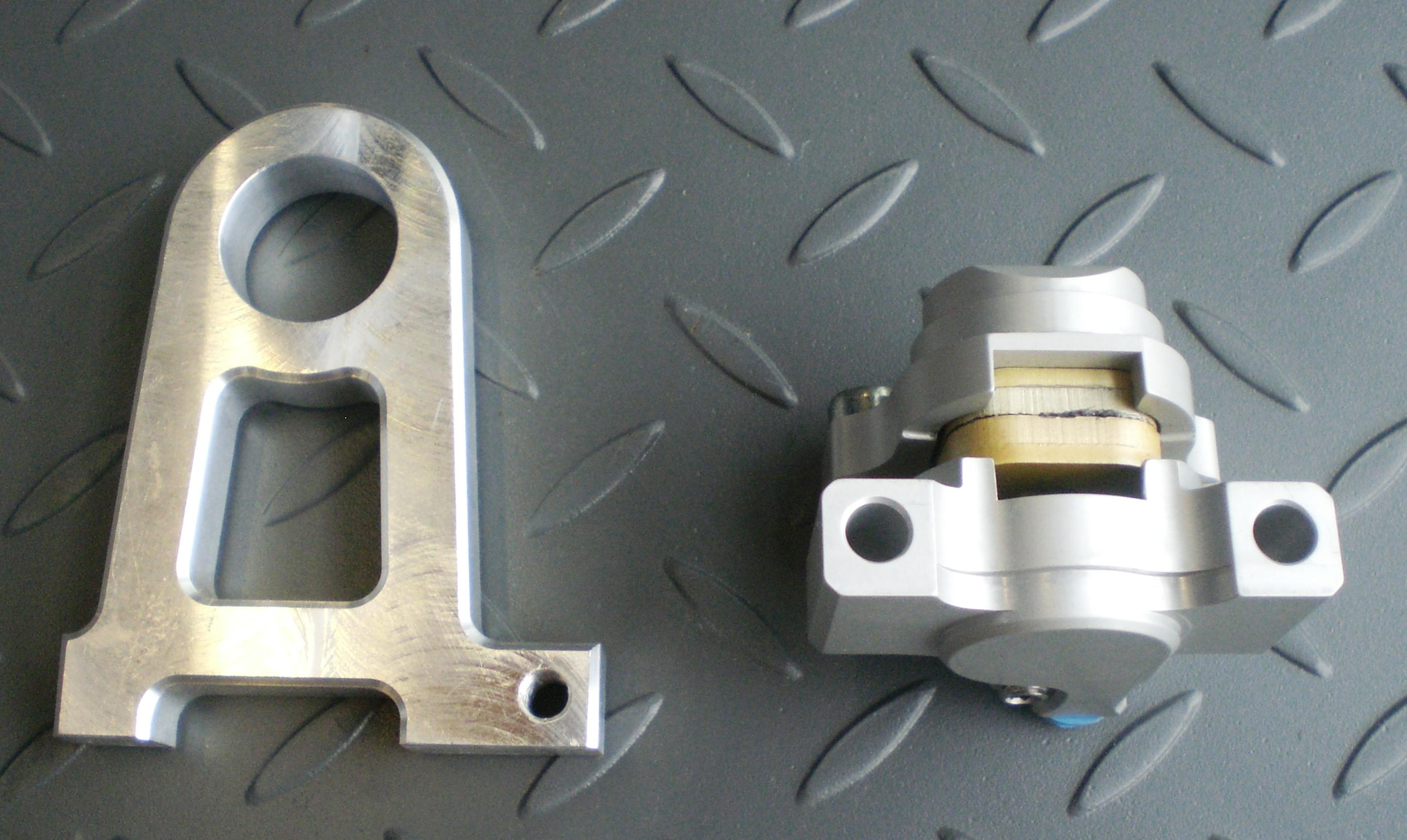 Brake Caliper & Hanger
