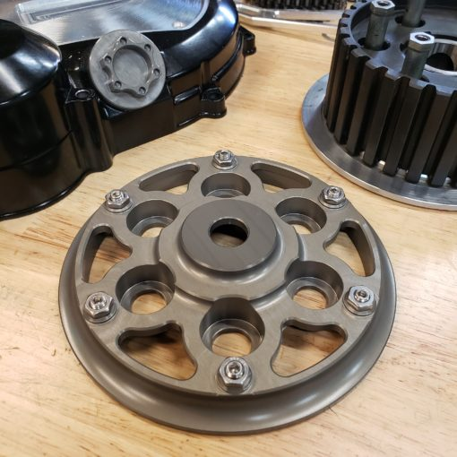slipper clutch pressure plate