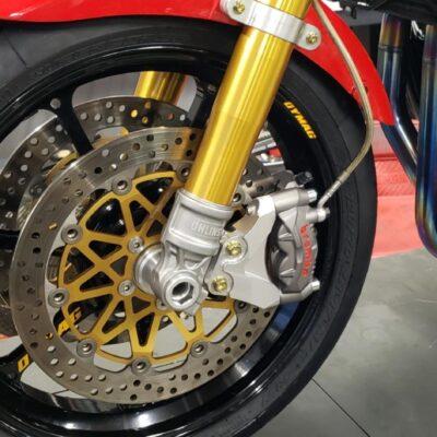 radial caliper bracket